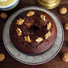 Chocolate walnuts cake