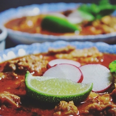 Chicken Posole, Kosher