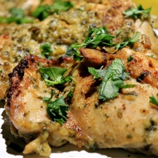 Israeli Roasted Garlic Chicken