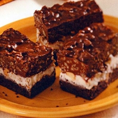 Triple-Tier Brownies Recipe Quick Dessert