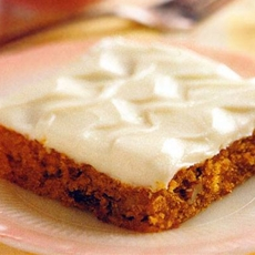 Carrot Cake Bars Quick dessert