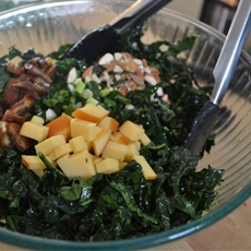 Kale and Mint Salad
