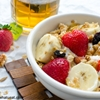 Greek yogurt banana breakfast bowl