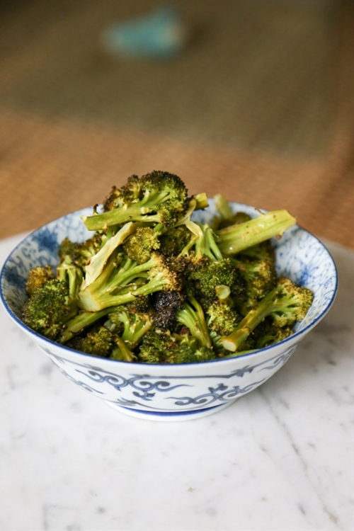 Fast Lemon and Butter Massaged Broccoli