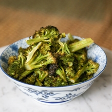 Fast Lemon and Butter Massaged Broccoli