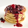 Lemon Mascarpone Pancakes