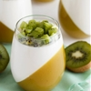 kiwi Passion Fruit Panna Cotta