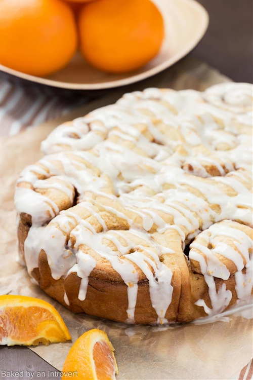 Orange Sweet Rolls (Slow Cooker Version)