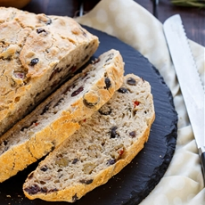 Rosemary Olive Beer Bread