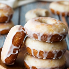 Baked Old Fashioned Donuts