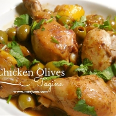 Chicken With Olives Tagine