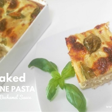 Baked Penne Pasta with Bechamel Sauce