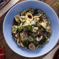 Orecchiette with Anchovies, Broccoli & Sundried Tomatoes