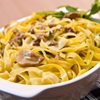 Fettuccine with Porcini Mushrooms