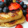 Panettone French Toast with Berries