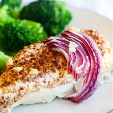 Simple Baked Mesquite Chicken