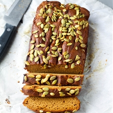 Flourless Pumpkin Bread (Gluten and Dairy Free)