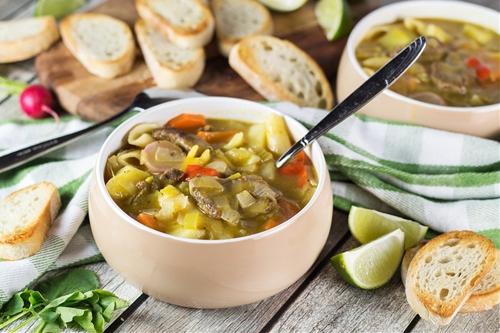 Soup Joumou (Haitian New Years Soup)