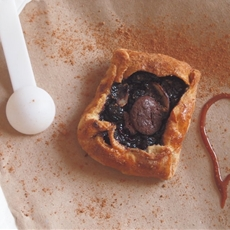 Passion, Berries & Chocolate Puff Pastry Easy Dessert!