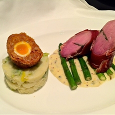 Sage Stuffed Pork Fillet