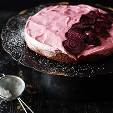 Chocolate Brownie and Beetroot Cake