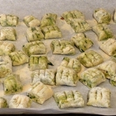 Homemade Gnocchi Pesto and Fresh Herbs Freezable