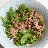 Healthy Tuna, Black Eye Bean, Rocket and Caper Salad dressed with Lemo