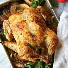 The Perfect Roast Chicken Every Time! Garden in the Kitchen