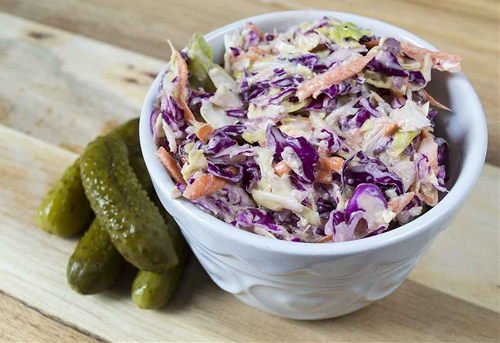 Vegan Coleslaw You Will Love!