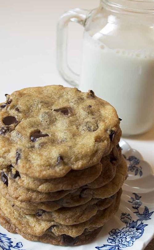 Ultimate Vegan Chocolate Chip Cookies