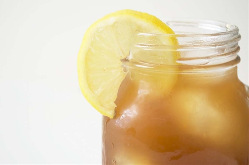 Homemade Lemon Iced Tea