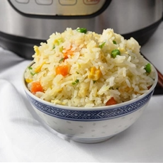 Instant Pot Fried Rice (Pressure Cooker)
