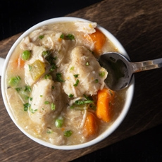 Instant Pot Chicken and Dumplings by Amy + Jacky