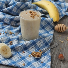 Healthy Chunky Monkey Smoothie