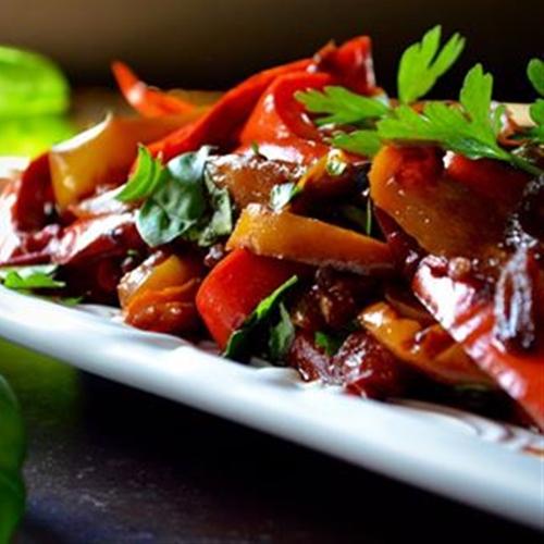 Italian Bell Pepper Stew