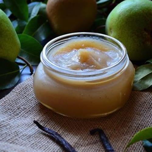 Crock pot Vanilla Pear Butter