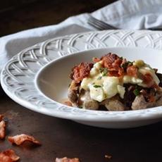 Breakfast Poutine Waffles #SundaySupper