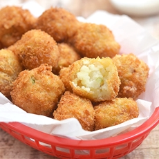Loaded Mashed Potato Balls