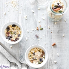 skinny and healthy granola, the fast way