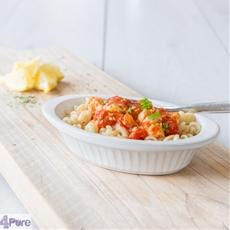 Greek pasta, healthy and delicious