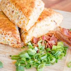 Bacon and Cheddar Scones