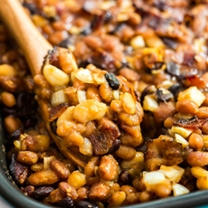 The Most Delicious Baked Beans
