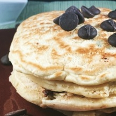 Easier Than a Box Mix Chocolate Chip Pancakes