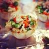 Petite Vegan Stuffed Fillo Shells