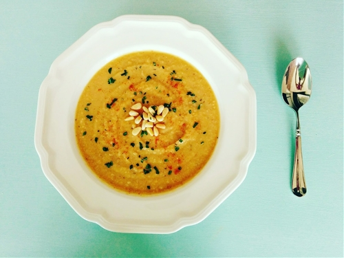 Vegan Summer Squash Soup