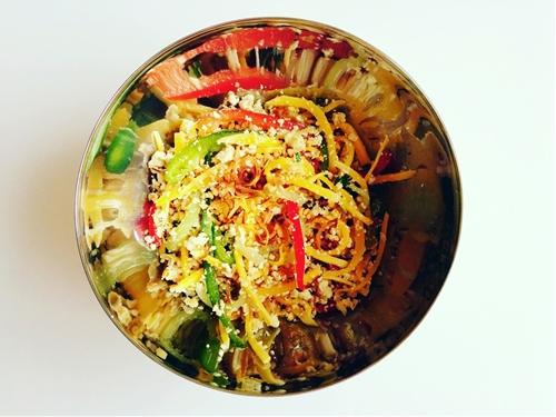 G?i Xoài Chay (Vegan Vietnamese Mango Salad)