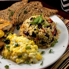 Gallo Pinto (Costa Rican Breakfast)