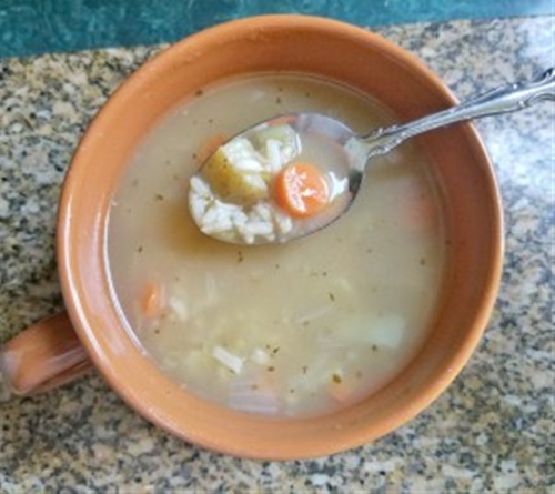 Homemade Turkey Rice Soup