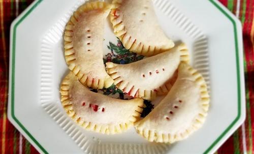 Cherry Pie Foldover Cookies