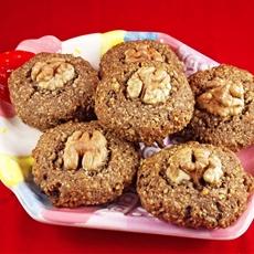 5-Ingredient Walnut Cookies (Gluten-Free & Dairy-Free)